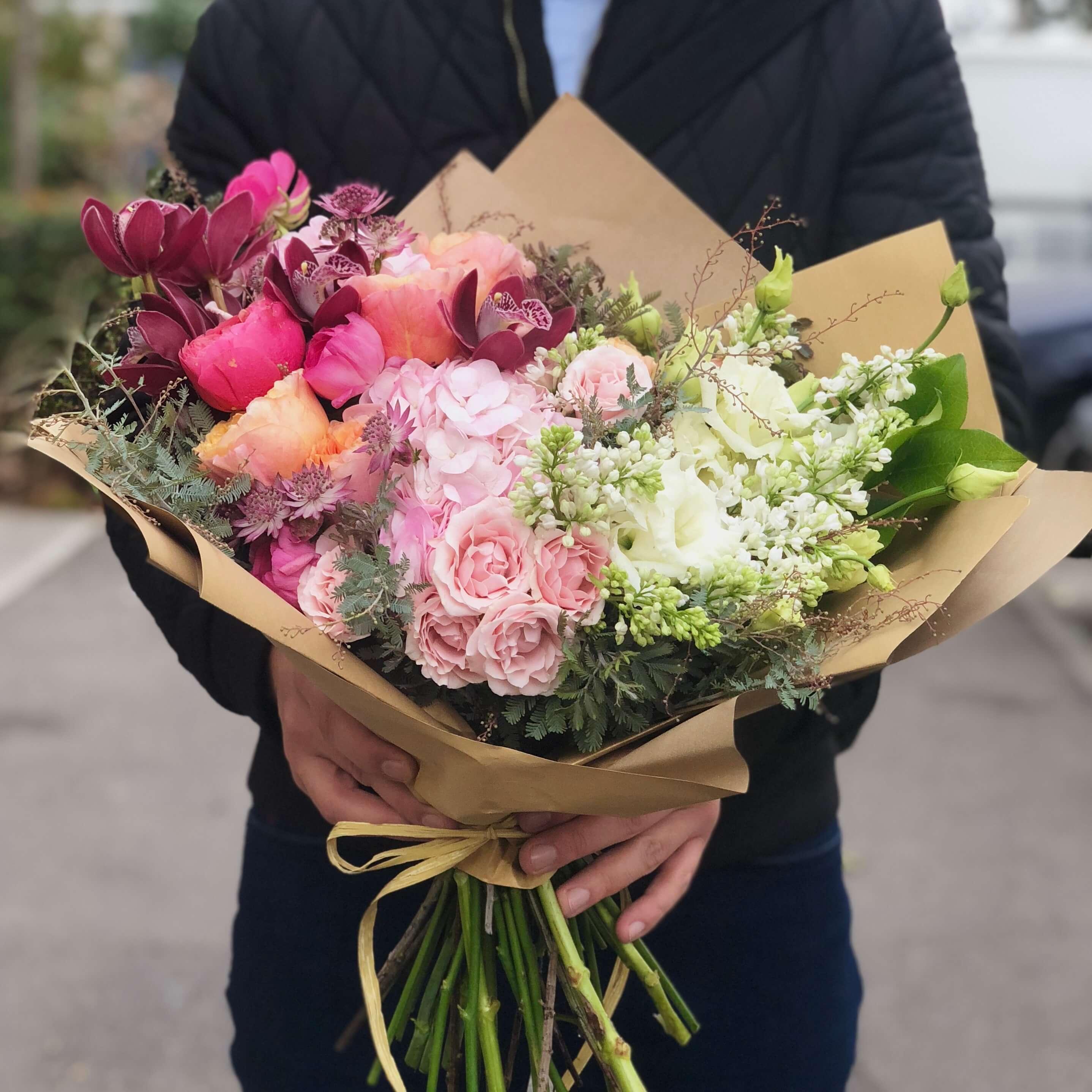 Buchet De Flori Surpriza Dulce Imodflowers